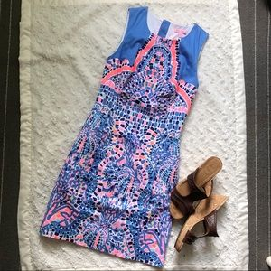 Lilly Pulitzer Milla Shift in Tic Tac Tile